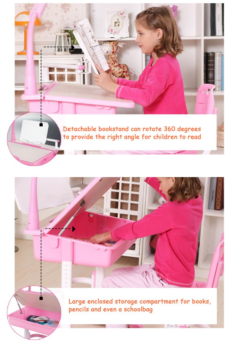 Maxi multifunctional ergonomic kids desk chair info 04
