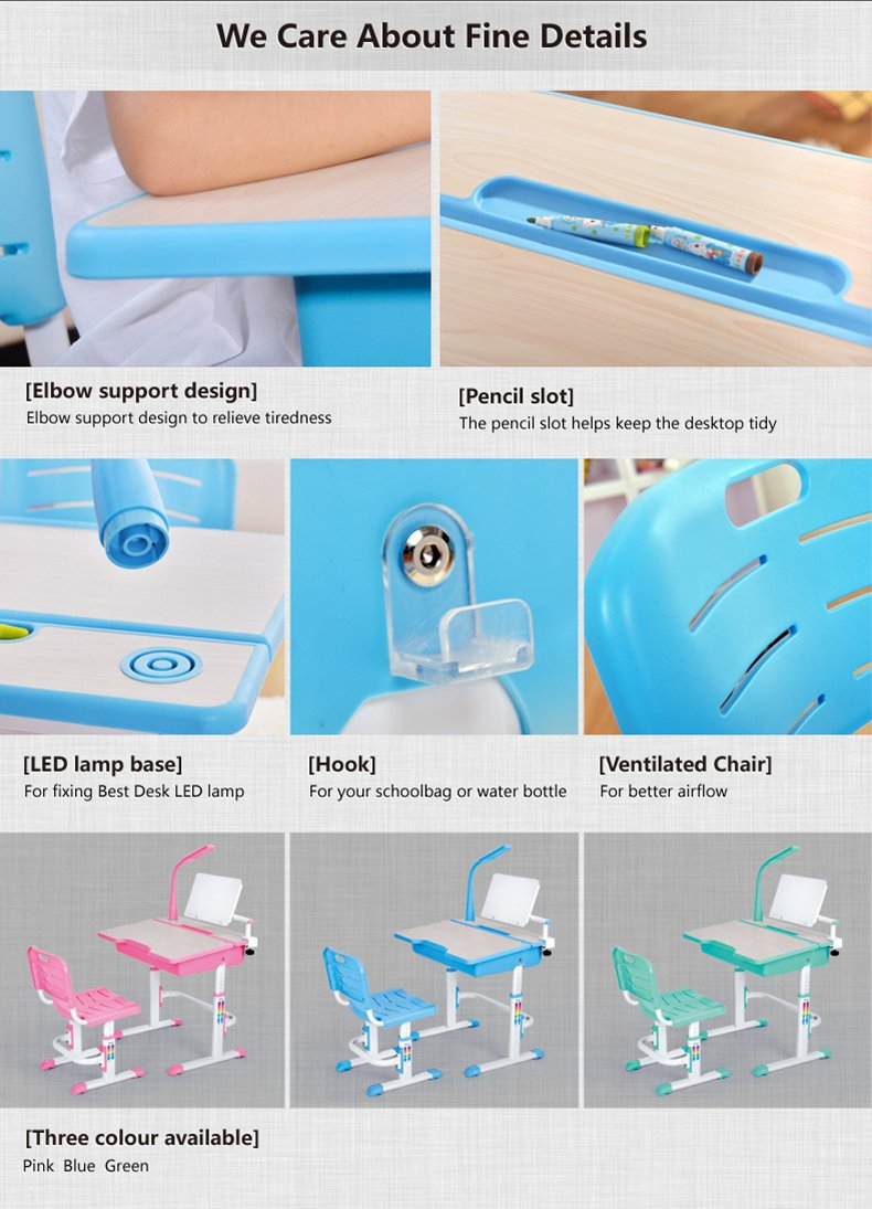 Maxi multifunctional ergonomic kids desk chair info 10