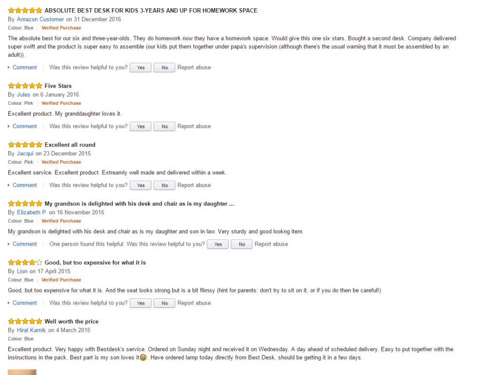best-desk-amazon-customers-feedback-1