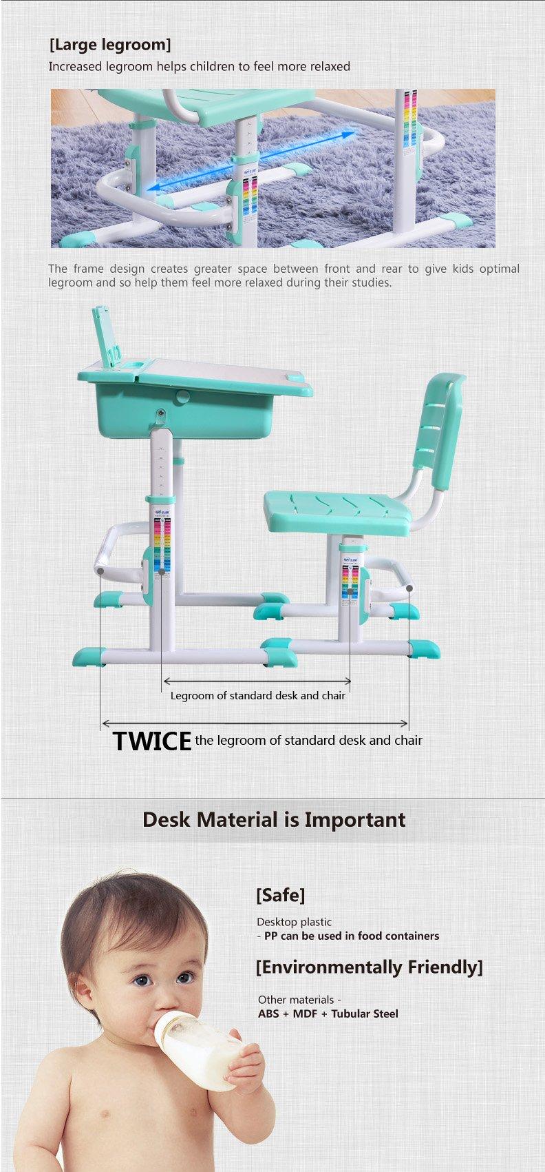 Best Desk kids adjustable desk chair Elf description 4