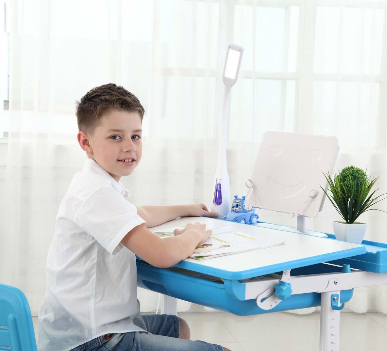 Children Enjoy Learning On Sprite Blue Desks Best Desk