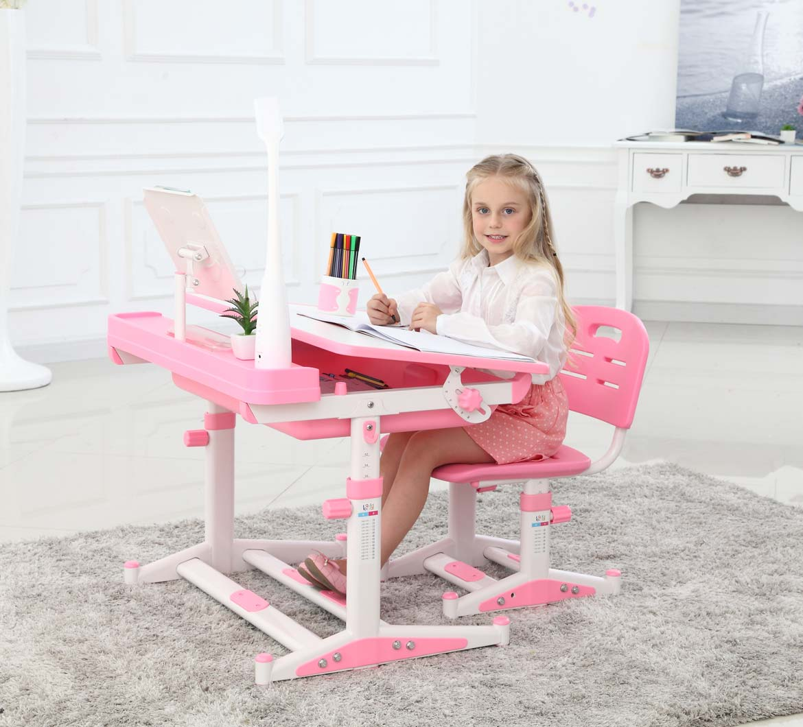 Sprite Pink Desk is Great for Girls