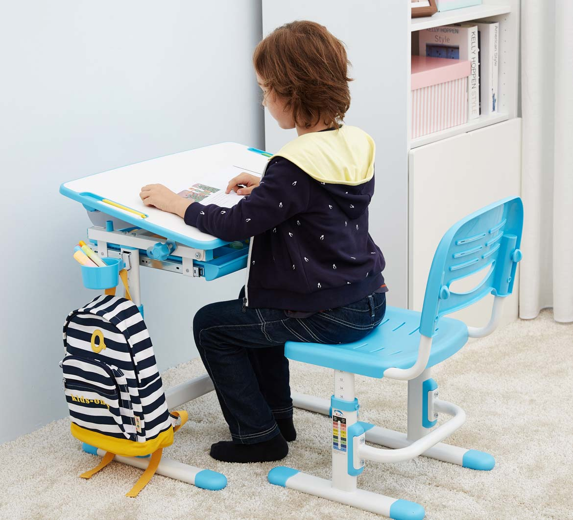 kids-table-chair-study-desk-with-tilt-desktop-blue-desk-for-boys-and-girls-portfolio-mini-blue-3