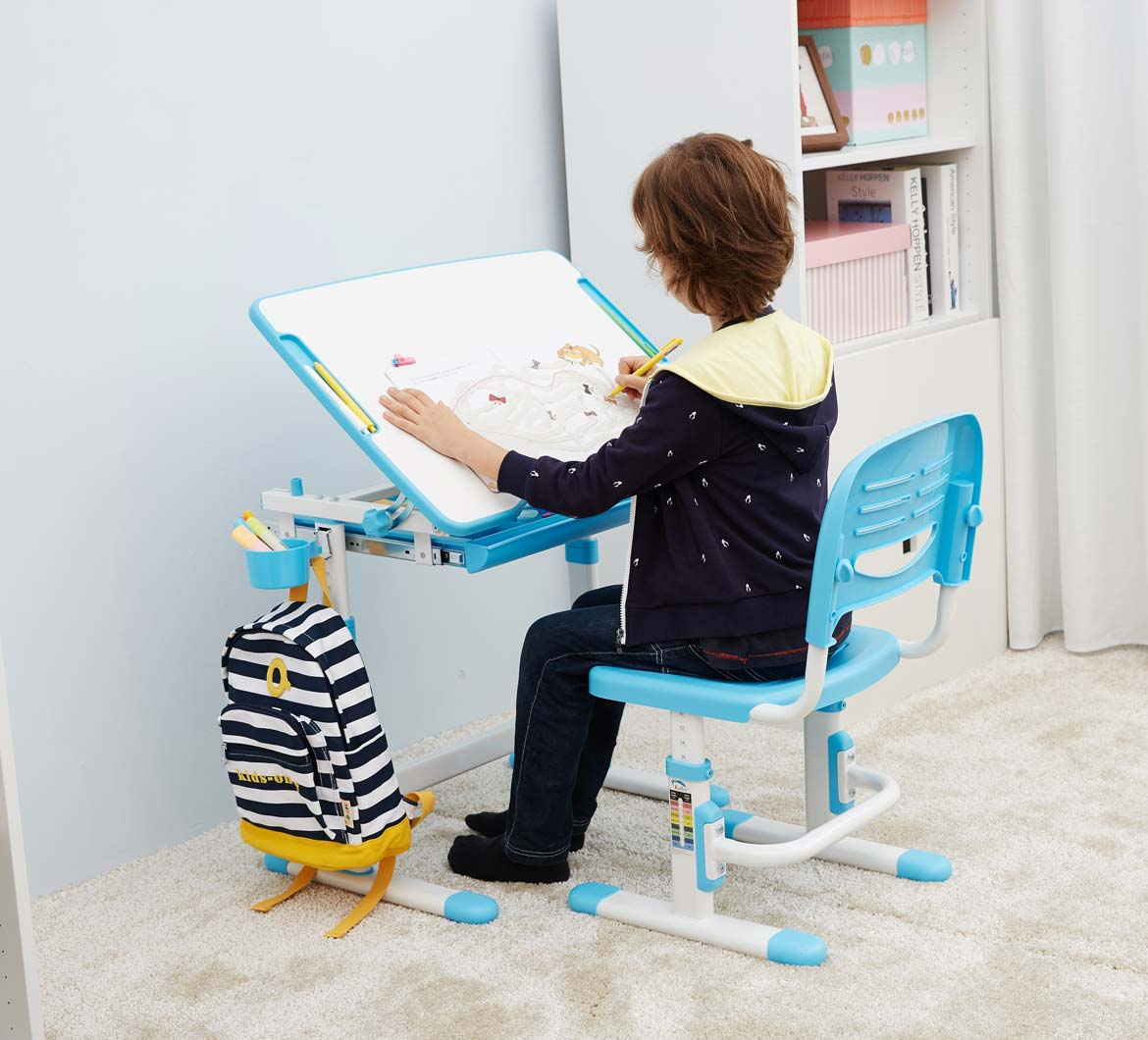 kids-table-chair-study-desk-with-tilt-desktop-blue-desk-for-boys-and-girls-portfolio-mini-blue-4