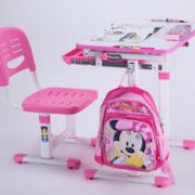 Height-Adjustable-Kids-Table-Ergonomic-Kids-Study-Desk-Chair-Pink-Desk-for-Girls-04