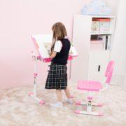 Pink-Desk-for-Girls-Ergonomic-Kids-Desk-Height-Adjustable-Kids-Table-No-Cupholder-08