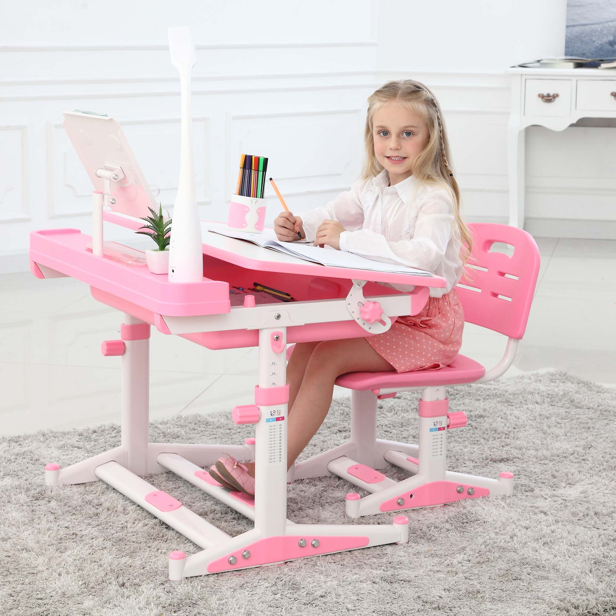 Best Desk | Height Adjustable Children Desks Chairs ...