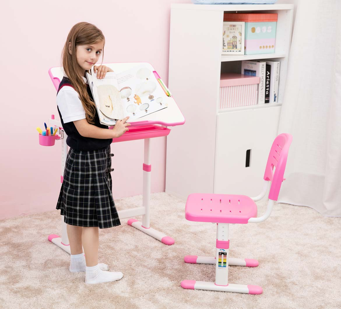 height-adjustable-kids-desk-chair-ergonomic-pink-table-for-girls-portfolio-mini-pink-4