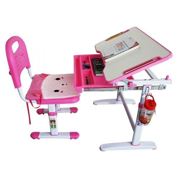 kids-study-desk-chair-height-adjustable-children-table-Mini-Pink-desk-for-girls-2018-model-12