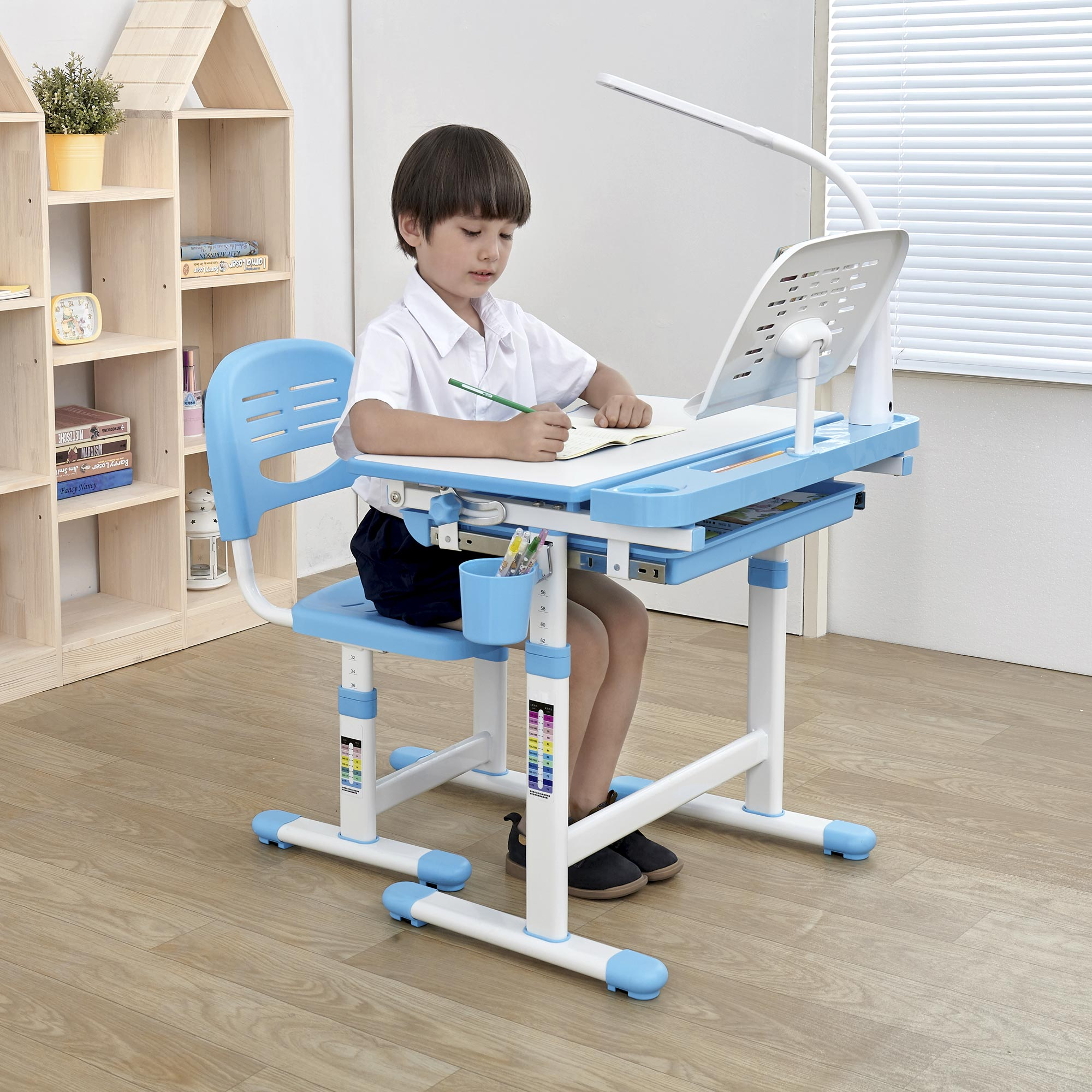 height-adjustable-kids-study-desk-chair-ergonomic-kids-table-Midi-blue-desk-for-boys-1