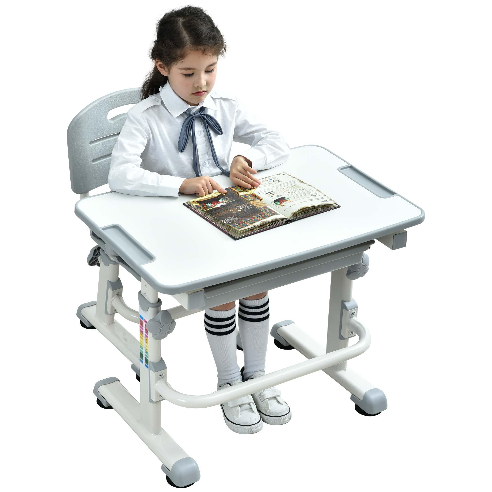 ergonomic-kids-desk-height-adjustable-table-for-kids-school-desk-grey-desk-02