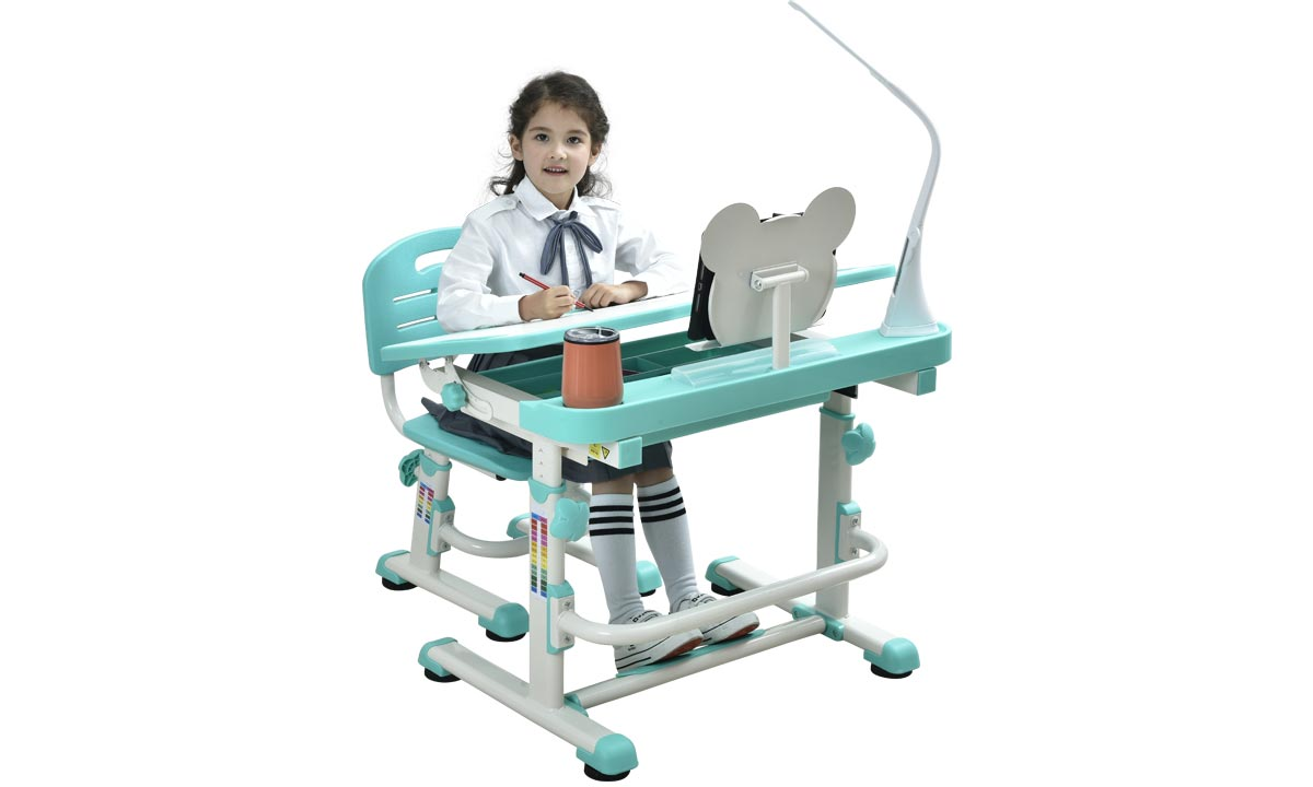 ergonomically-designed-desk-and-chair-for-kids