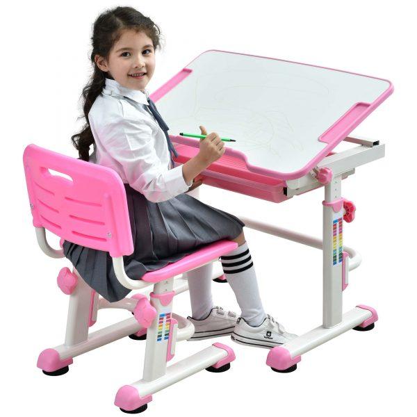 kids-table-and-chair-height-adjustable-children-desk-learning-table-tilting-desktop-pink-desk-for-girls-07