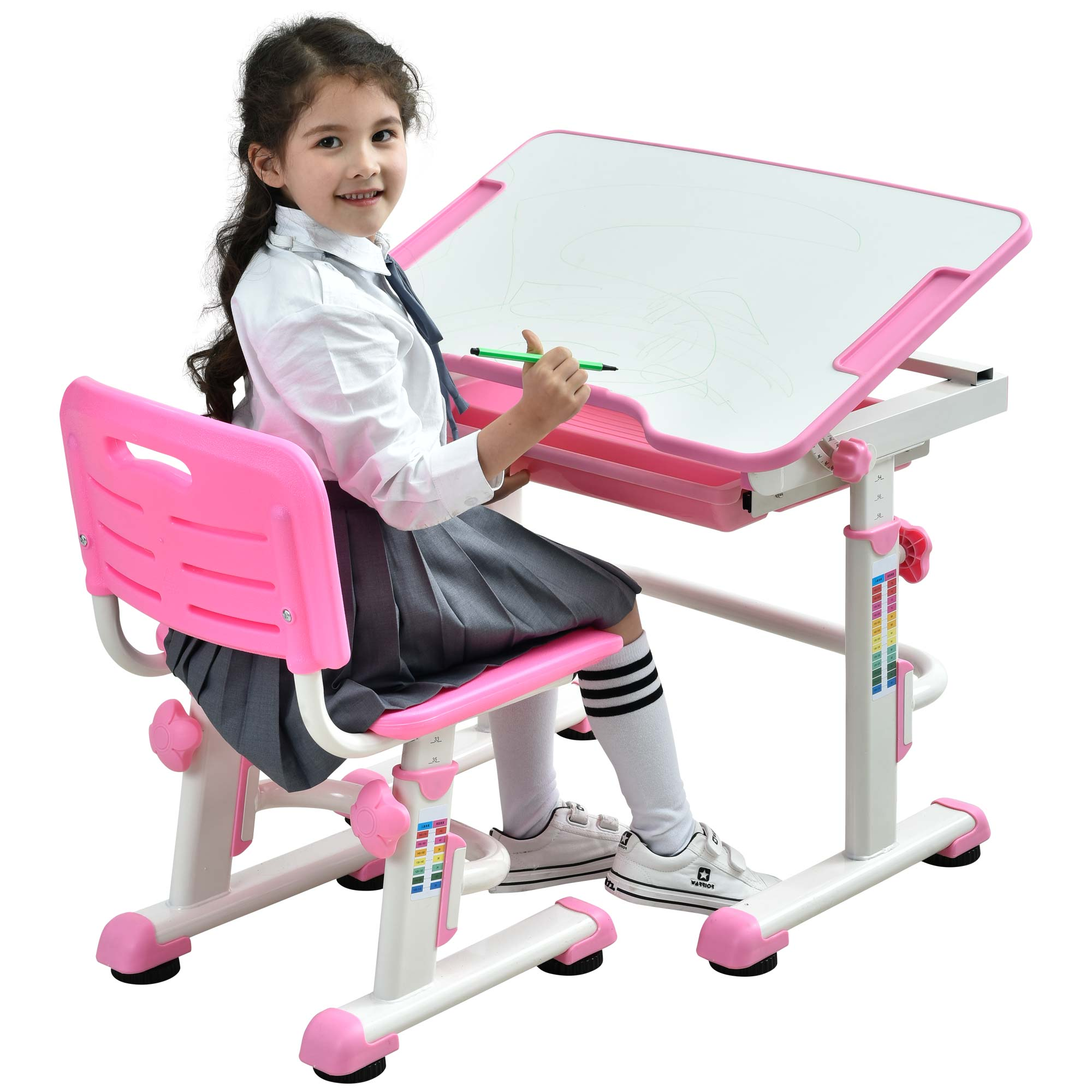 kids-table-and-chair-height-adjustable-children-desk-learning-table-tilting-desktop-pink-desk-for-girls-07