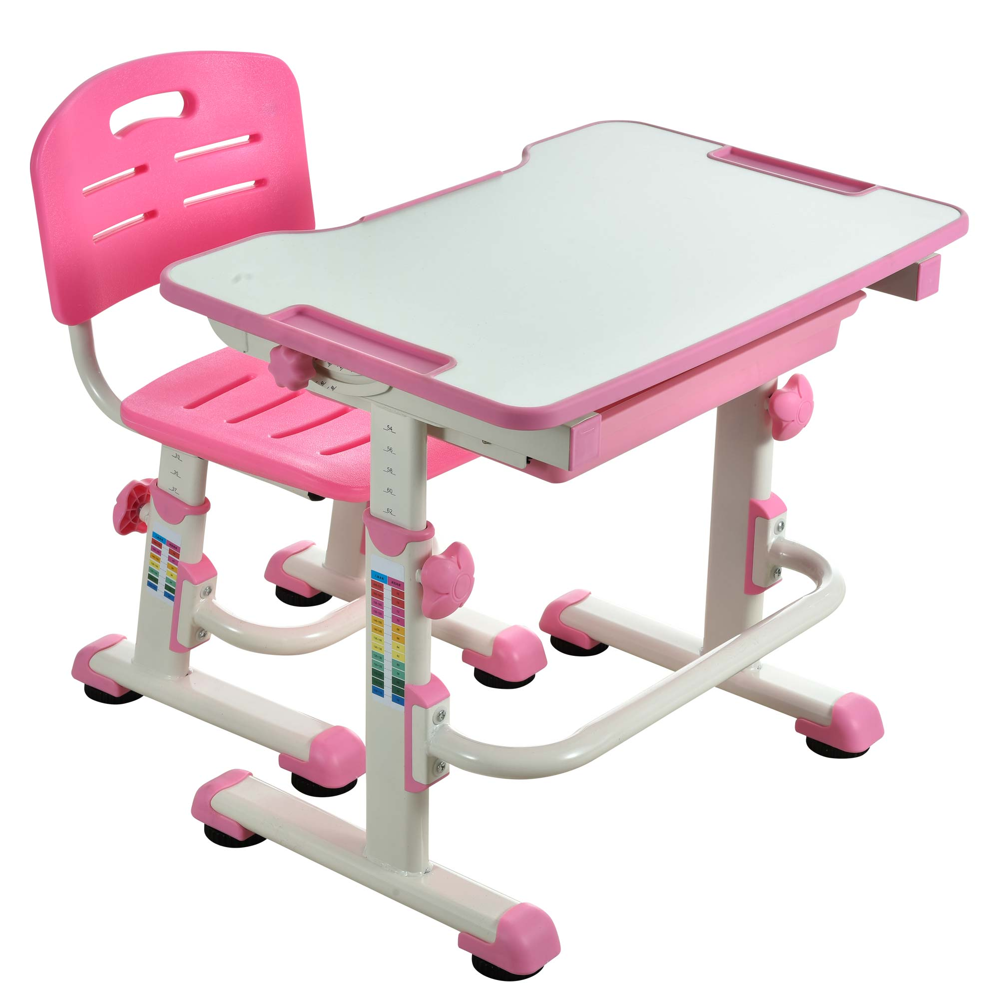 kids-table-and-chair-height-adjustable-children-desk-learning-table-tilting-desktop-pink-desk-for-girls-09