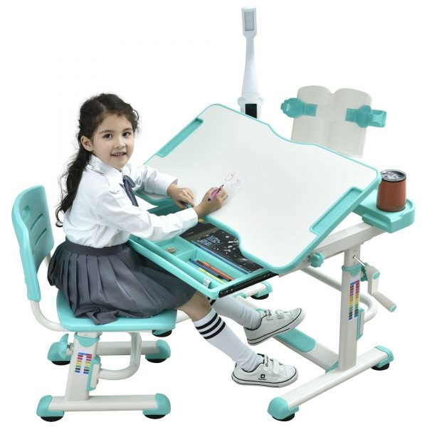 kids-study-table-height-adjustable-desk-for-children-green-Sprite-desk-07